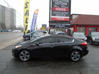 Used 2014 Kia Forte EX / BLUETOOTH / ALLOYS/ CLEAN/ CERTIFIED / for sale in Scarborough, ON