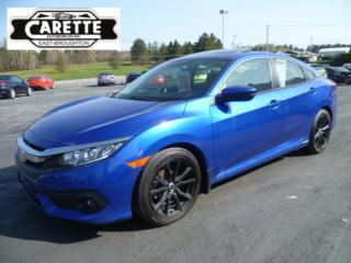 Used 2016 Honda Civic Ex-t  turbo toit ouvrant for sale in East broughton, QC