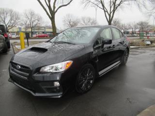 Used 2017 Subaru WRX Black Cloth for sale in Dollard-des-Ormeaux, QC