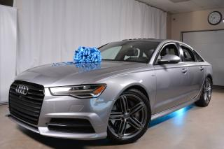 Used 2016 Audi A6 3.0T Technik Quattro Optic Black for sale in Laval, QC
