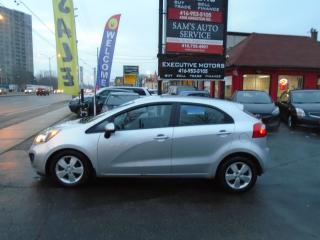 Used 2014 Kia Rio LX+ ECO/ ALLOYS/ BLUETOOTH / SUPER CLEAN / UBER for sale in Scarborough, ON