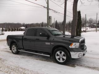 Used 2017 RAM 1500 Cabine multiplaces 4RM, 149po Outdoorsm for sale in Ancienne Lorette, QC