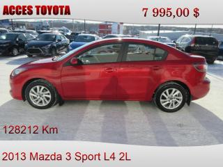 Used 2013 Mazda MAZDA3 Sport for sale in Rouyn-Noranda, QC