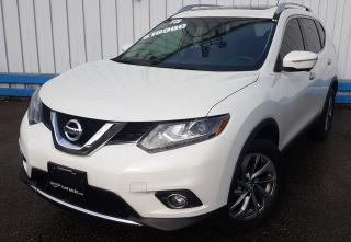 Used 2015 Nissan Rogue SL AWD *LEATHER-SUNROOF* for sale in Kitchener, ON