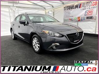 Used 2015 Mazda MAZDA3 GS Sky-Camera-GPS-Sunroof-Heated Seats-Fog Lights- for sale in London, ON