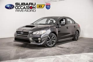 Used 2017 Subaru WRX BLUETOOTH+SIEGES.CH for sale in Boisbriand, QC