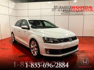 Used 2014 Volkswagen Jetta GLI + CUIR + NAV + CAMERA + WOW !!! for sale in St-Basile-le-Grand, QC