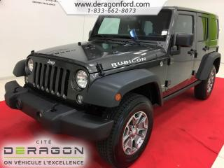 Used 2018 Jeep Wrangler RUBICON 4X4 NAV for sale in Cowansville, QC