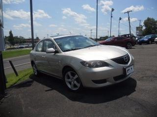 Used 2007 Mazda MAZDA3 LOW KMS | ALLOY WHEELS| *CERTIFIED* for sale in Mississauga, ON