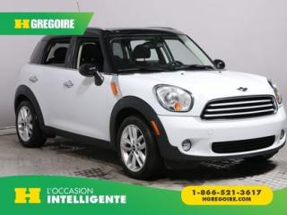 Used 2012 MINI Cooper FWD A/C CUIR TOIT for sale in St-Léonard, QC