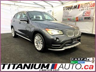 Used 2015 BMW X1 xDrive-Camera-GPS-Pano Roof-Brown Power Leather- for sale in London, ON