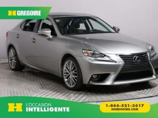Used 2015 Lexus IS 250 4DR SDN AWD CUIR for sale in St-Léonard, QC