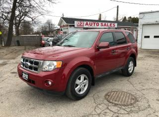 Used 2010 Ford Escape XLT/Certified/Automatic/Accident Free for sale in Scarborough, ON