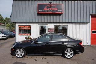 Used 2011 Mercedes-Benz C-Class C300 Awd Cuir for sale in Lévis, QC