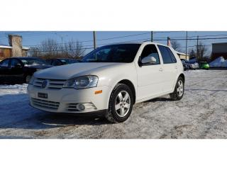 Used 2008 Volkswagen City Golf 2.0L for sale in St-Jérôme, QC