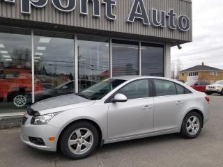 Used 2014 Chevrolet Cruze Chevrolet cruze 2LT berline for sale in Alma, QC