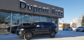 Used 2018 Jeep Grand Cherokee LIMITED 4X4 for sale in Alma, QC
