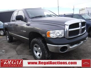 Used 2004 Dodge Ram 1500 Quad Cab 4WD for sale in Calgary, AB