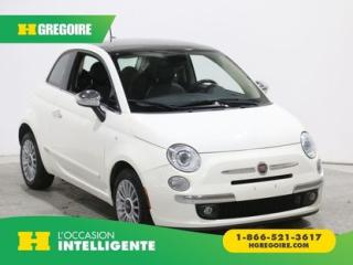 Used 2014 Fiat 500 LOUNGE AC GR ELECT for sale in St-Léonard, QC