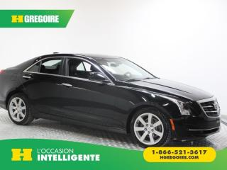 Used 2015 Cadillac ATS STANDARD RWD A/C for sale in St-Léonard, QC