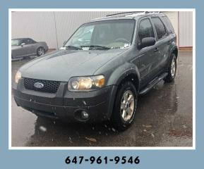 Used 2006 Ford Escape XLT for sale in Mississauga, ON
