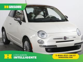 Used 2012 Fiat 500 C Lounge A/c for sale in St-Léonard, QC