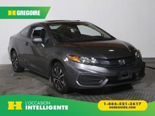 Used 2015 Honda Civic EX 2 PORTE A/C GR for sale in St-Léonard, QC