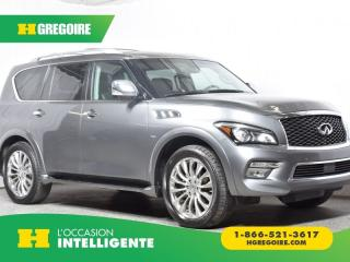 Used 2016 Infiniti QX80 AWD 4DR 7-PASSENGER for sale in St-Léonard, QC