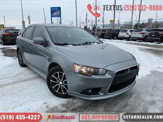 Used 2015 Mitsubishi Lancer GT | LEATHER | ROOF | 1OWNER for sale in London, ON