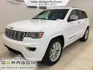 Used 2018 Jeep Grand Cherokee Overland V8 Hemi Nav for sale in Cowansville, QC
