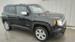 Used 2015 Jeep Renegade Limited | 4WD | Leather for sale in Listowel, ON