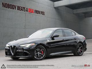 Used 2018 Alfa Romeo Giulia Quadrifoglio, Carbonceramicbrakes, Driverassistdyn for sale in Mississauga, ON