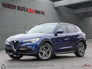 Used 2018 Alfa Romeo Stelvio Sport*Nav*Cold Weather Pkg*5-Hole Whls*Mint for sale in Mississauga, ON