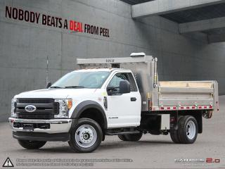 Used 2017 Ford F-550 6.7L*Aluminum Hydraulic Dump BOX*AS NEW* COM for sale in Mississauga, ON