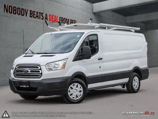 Used 2016 Ford Transit Connect Roof Ladder Racks,Full Shelving,Camera*COM for sale in Mississauga, ON