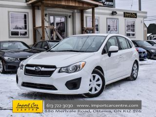 Used 2014 Subaru Impreza 2.0i HATCH 5 SPEED BLUETOOTH WOW!! for sale in Ottawa, ON