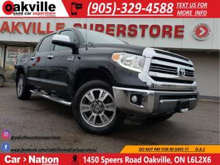 Used 2017 Toyota Tundra 1794 EDITION | 5.7L V8 | LOADED | NAVI for sale in Oakville, ON