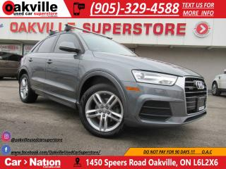 Used 2016 Audi Q3 2.0T | KOMFORT | PANOROOF | BLUETOOTH | ROOF RACK for sale in Oakville, ON