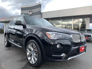 Used 2016 BMW X3 28i XDRIVE AWD NAVI REAR CAMERA PANO ROOF for sale in Langley, BC