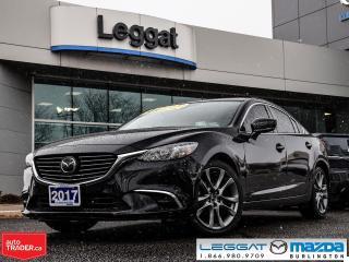 Used 2017 Mazda MAZDA6 GT LEATHER, NAV, BOSE, REAR CAMERA for sale in Burlington, ON