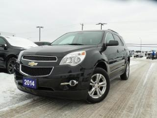 Used 2014 Chevrolet Equinox 1LT 2.4L 4CYL LEATHER NAVIGATION for sale in Midland, ON