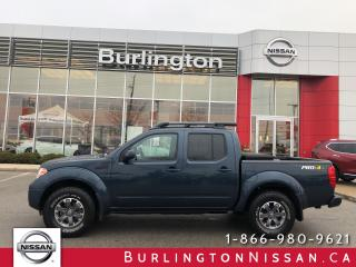 Used 2016 Nissan Frontier PRO-4X, accident free ! wow only 34,000 km's ! for sale in Burlington, ON