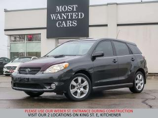 Used 2005 Toyota Matrix YOU CERTIFY YOU SAVE for sale in Kitchener, ON