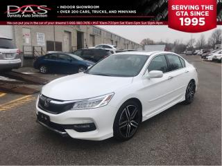 Used 2016 Honda Accord Touring V6 Navigation/Leather/Sunroof for sale in North York, ON