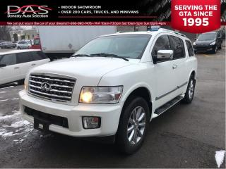 Used 2008 Infiniti QX56 NAVIGATION/REAR CAMERA/DVD/8 PASS for sale in North York, ON