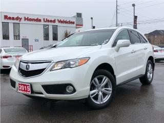 Used 2015 Acura RDX Base - Leather - Sunroof - Rear Camera for sale in Mississauga, ON