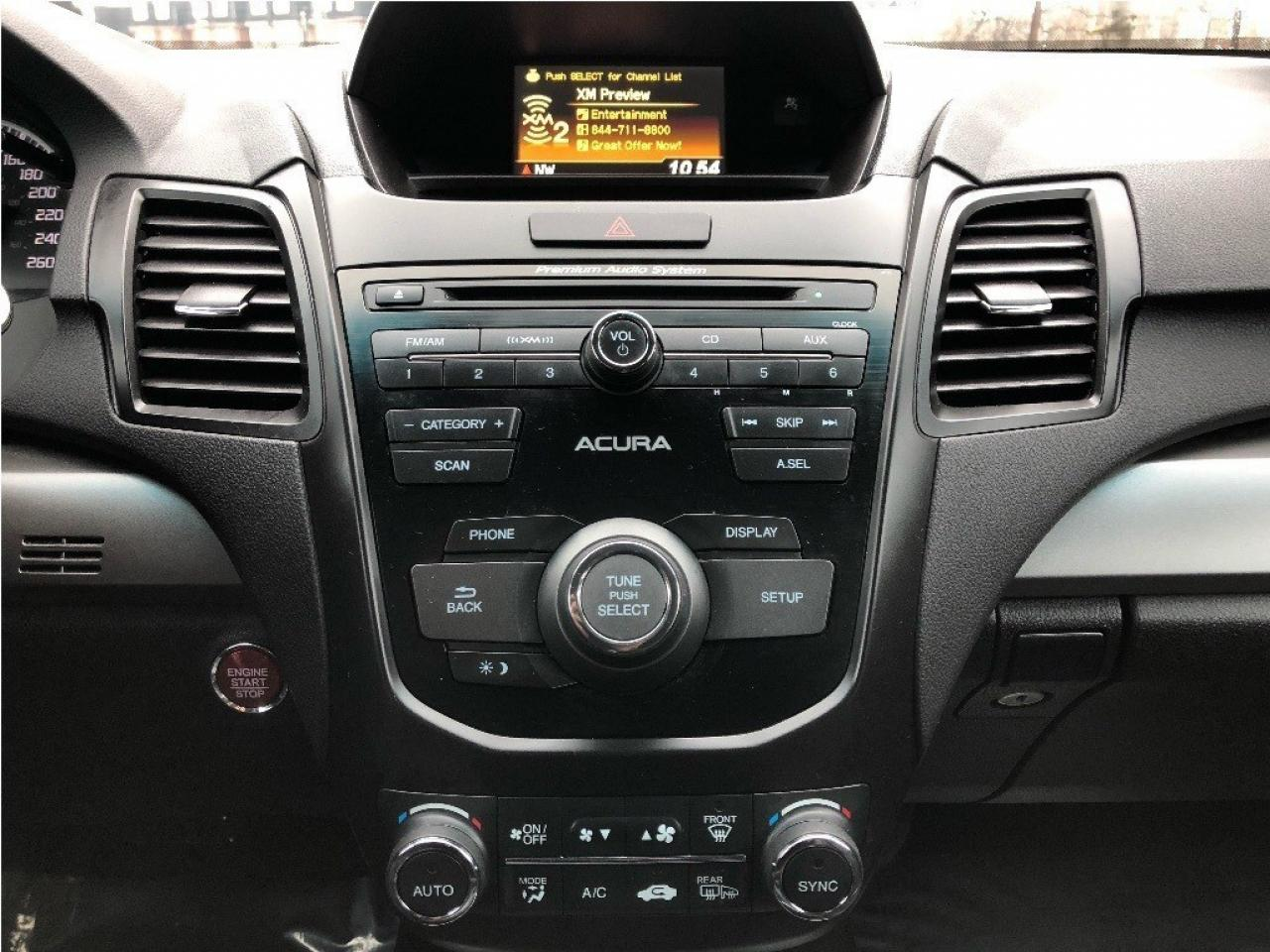 2015 Acura RDX Base - Leather - Sunroof - Rear Camera