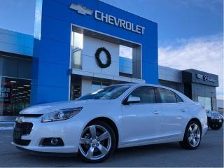 Used 2015 Chevrolet Malibu LTZ for sale in Barrie, ON