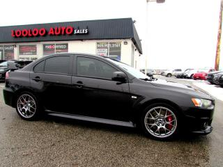 Used 2013 Mitsubishi Lancer Evolution GSR AWD NAVIGATION CAMERA CERTIFIED 2YR WARRANTY for sale in Milton, ON