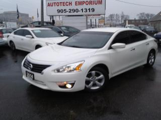 Used 2014 Nissan Altima Prl White Alloys/Remote Start&ABS* for sale in Mississauga, ON